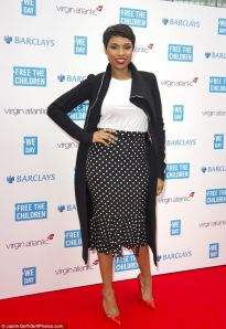 Jennifer Hudson at UK