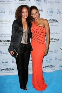 Mara Brock Akil and Holly Robinson Spelman