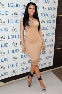 Nicki Minaj Liquid Pool Lounge