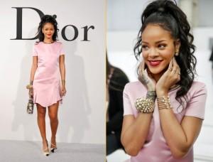Rihanna the Christian Dior