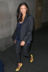 Thandie Newton at NBC, NYC