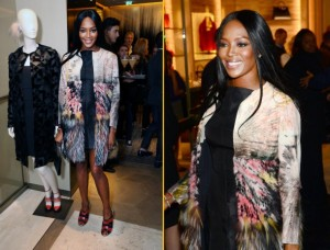 the Fendi Flagship store opening
