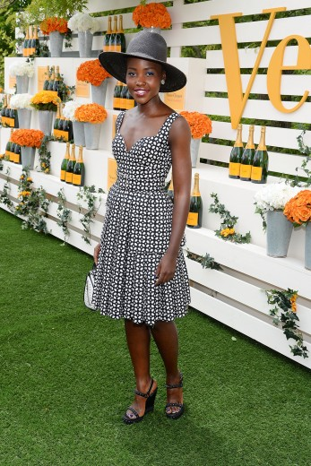 Lupita Nyong'o attends the 7th annual Veuve Clicquot Polo Classic in
