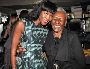 Naomi Campbell and Bethann Hardison
