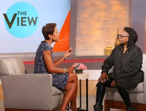 Robin and Whoopi