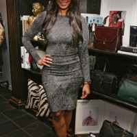 Vanessa Simmons celebrates the premiere of Lifetime's All New Fashion Series Project Runway: THREADS at Christian Siriano Boutique