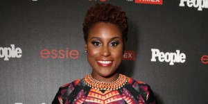 "Issa Rae arrives at the PEOPLE ""Ones to Watch"" Party at The Line Hotel on Thursday, Oct. 9, 2014, in Los Angeles. (Photo by Todd Williamson/Invision for People/AP Images)"